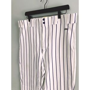 Rare Baseball striped tapered pants